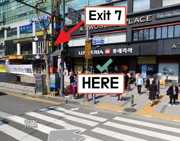 Busan City Night View Tour Meeting Point Nampo Station Exit 6