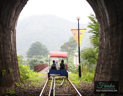 Nami Island & Railbike & Garden of Morning Calm Shuttle Package_6
