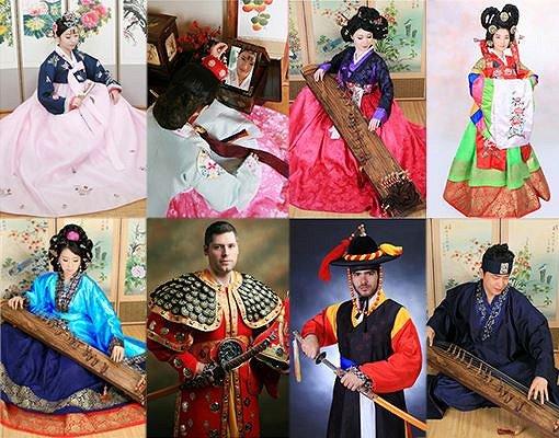 Hanbok Photoshoot In Studio_1