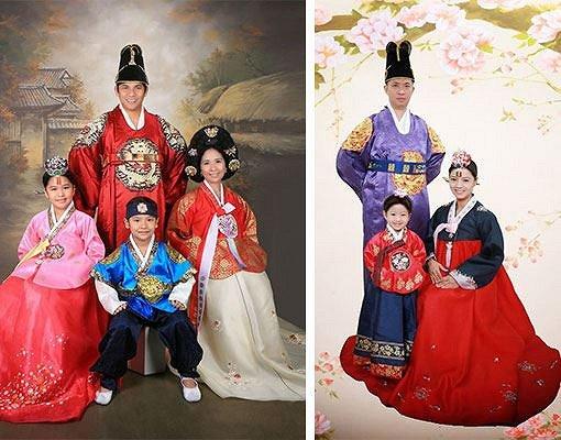 Hanbok Photoshoot In Studio_18