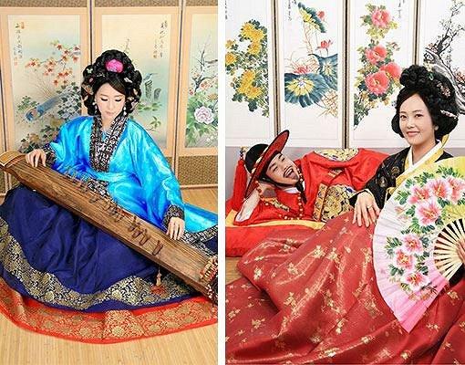 Hanbok Photoshoot In Studio_16