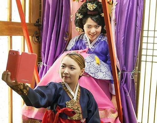 Hanbok Photoshoot In Studio_14