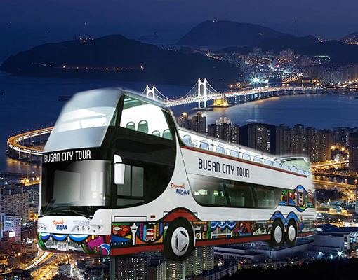 Busan City Tour Bus – Night View Tour