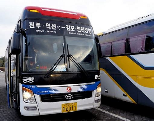 Airport Shuttle Ticket Reservation From Incheon Airport to Jeonju Terminal