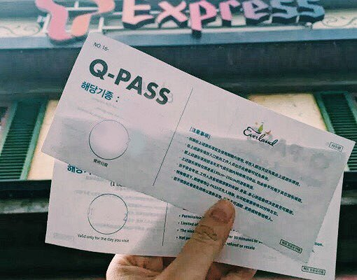 Skip-the-line Pass for Everland [Qpass / Fast Pass]