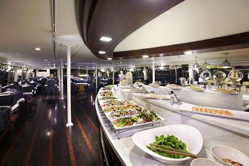 Hangang River Luxury Ferry Dinner Buffet Cruise_17
