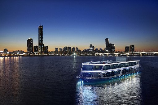 Hangang River Luxury Ferry Dinner Buffet Cruise_15