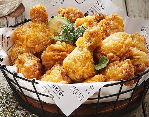 Kyochon Chicken: Honey Combo Chicken