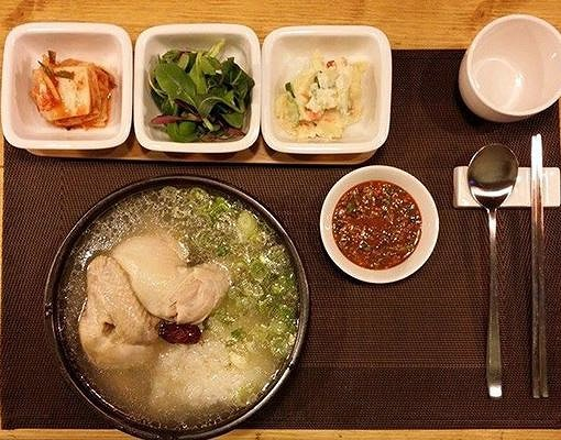Samgyetang - Halal Korean Food