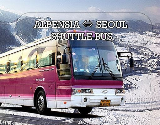 [Purple Bus] Seoul to/from Alpensia Resort Shuttle Bus_0