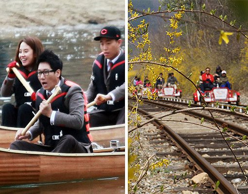 Chuncheon Mullegil Canoe and Gangchon Railbike Package