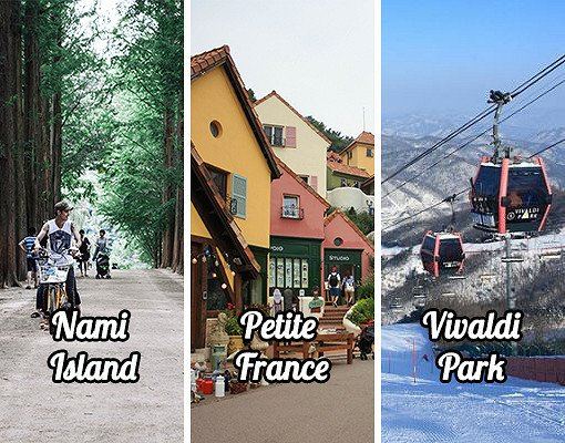 [Dec 1 - Feb 28] Nami Island & Petite France & Vivaldi Park Package