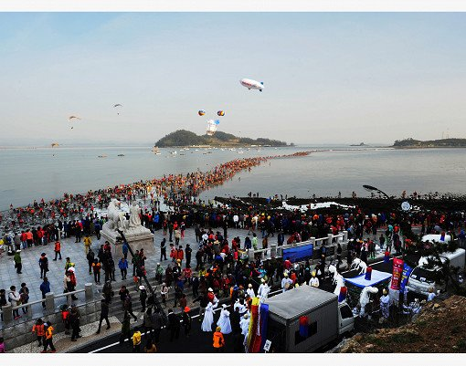 [From Seoul/Busan] 2019 Jindo Miracle Sea Road Festival_15