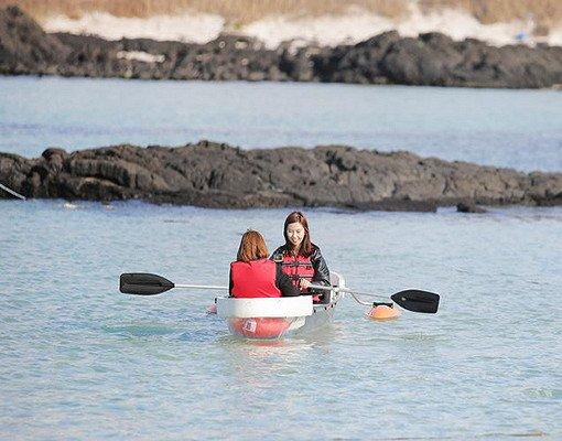Jeju Kayak Discount Ticket (Woljeongri)_4