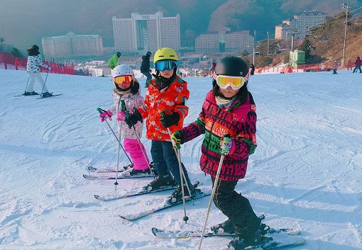 Half Day Ski Lesson Tour at Konjiam Resort_2