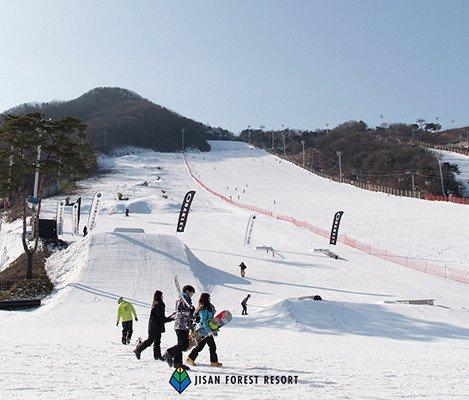 2019 Jisan Forest Ski Snowboard Lesson Shuttle Bus Package_1