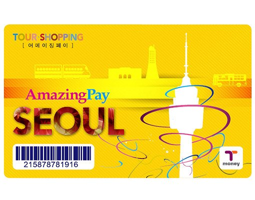 Amazing Pay T-Money (Transportation) Card_1