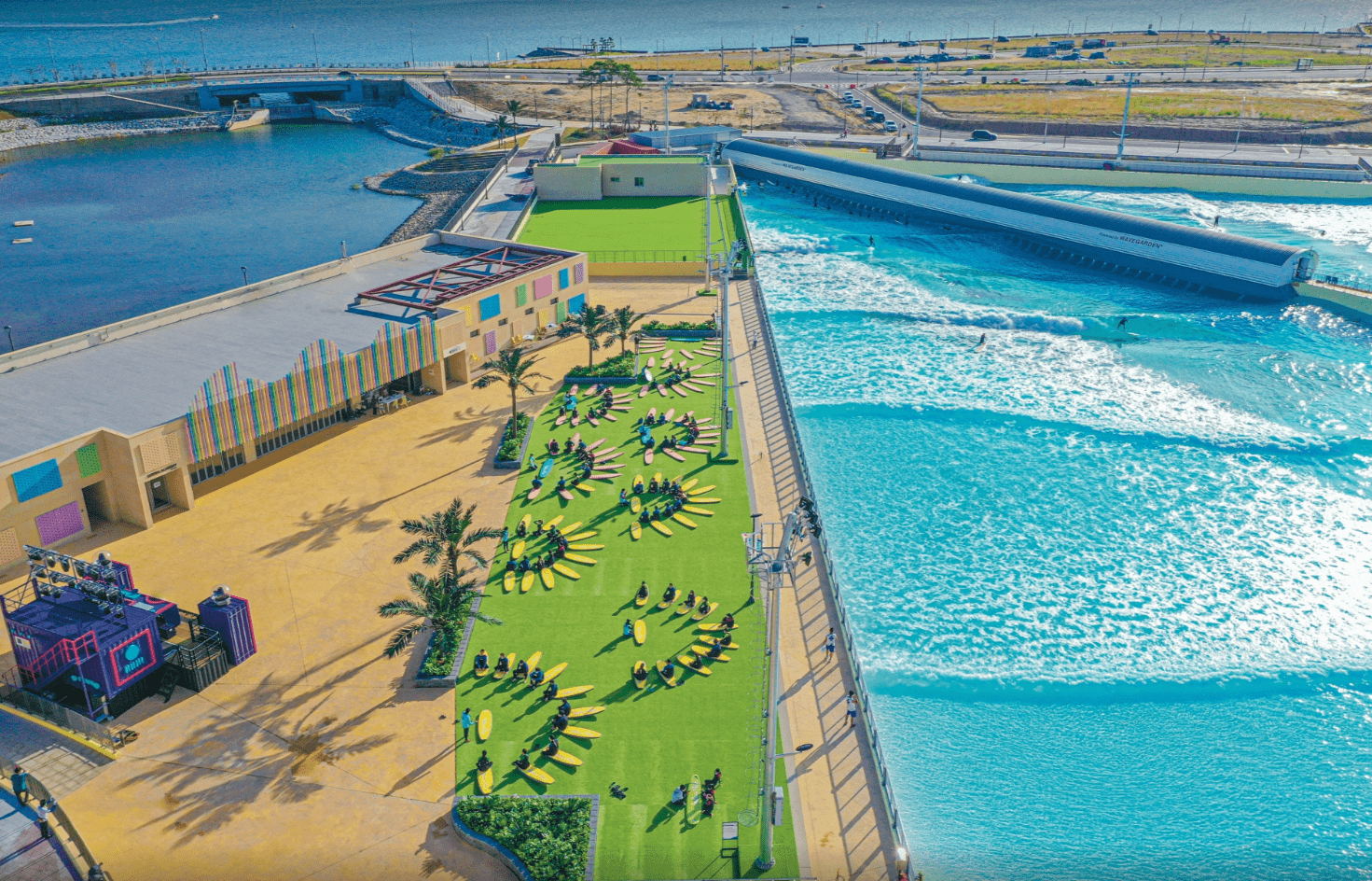 Wave park Discount Ticket (Surfing and Water Park in Korea)
